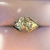 2.00ct Art Deco Asscher Cut Diamond Ring GIA J SI1 25