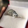 2.00ct Art Deco Asscher Cut Diamond Ring GIA J SI1 20