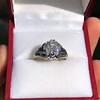 2.00ct Art Deco Asscher Cut Diamond Ring GIA J SI1 15