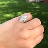 2.00ctw Vintage Navette Ring 11
