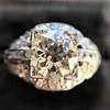 2.01ctw Old European Cut Diamond Art Deco Ring 6