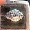 2.01ctw Old European Cut Diamond Art Deco Ring 8