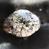 2.01ctw Old European Cut Diamond Art Deco Ring 5