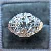 2.01ctw Old European Cut Diamond Art Deco Ring 9