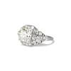 2.01ctw Old European Cut Diamond Art Deco Ring 1