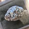 2.01ctw Old European Cut Diamond Art Deco Ring 7
