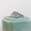 2.03ct Art Deco Antique Cushion Cut/Peruzzi Diamond Ring, GIA L SI2 13