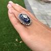 2.04ctw Georgian Urn Motif Diamond and Enamel Ring 12