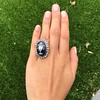 2.04ctw Georgian Urn Motif Diamond and Enamel Ring 13