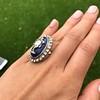 2.04ctw Georgian Urn Motif Diamond and Enamel Ring 14