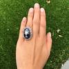 2.04ctw Georgian Urn Motif Diamond and Enamel Ring 11