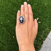 2.04ctw Georgian Urn Motif Diamond and Enamel Ring 18