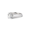 2.05ct Old European Cut Diamond Platinum Solitaire, GIA K SI1 1