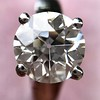 2.05ct Old European Cut Diamond Platinum Solitaire, GIA K SI1 11