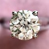2.05ct Old European Cut Diamond Platinum Solitaire, GIA K SI1 15