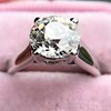 2.05ct Old European Cut Diamond Platinum Solitaire, GIA K SI1 23