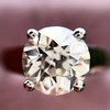 2.05ct Old European Cut Diamond Platinum Solitaire, GIA K SI1 14