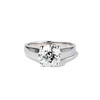 2.05ct Old European Cut Diamond Platinum Solitaire, GIA K SI1 0