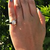 2.05ct Old European Cut Diamond Platinum Solitaire, GIA K SI1 9