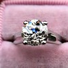 2.05ct Old European Cut Diamond Platinum Solitaire, GIA K SI1 21