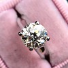 2.05ct Old European Cut Diamond Platinum Solitaire, GIA K SI1 27