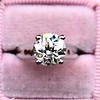 2.05ct Old European Cut Diamond Platinum Solitaire, GIA K SI1 20