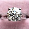 2.05ct Old European Cut Diamond Platinum Solitaire, GIA K SI1 5