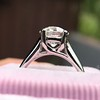 2.05ct Old European Cut Diamond Platinum Solitaire, GIA K SI1 25