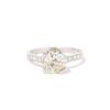 2.08ct Vintage Old European Cut Diamond Illusion Ring