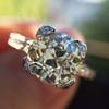 2.08ct Vintage Old European Cut Diamond Illusion Ring 11