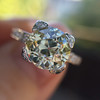 2.08ct Vintage Old European Cut Diamond Illusion Ring 8