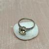 2.08ct Vintage Old European Cut Diamond Illusion Ring 26