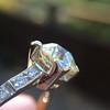 2.08ct Vintage Old European Cut Diamond Illusion Ring 19