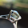 2.08ct Vintage Old European Cut Diamond Illusion Ring 16