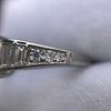 2.13ct Antique Cushion Cut Diamond Ring GIA K SI1 16