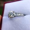 2.13ct Antique Cushion Cut Diamond Ring GIA K SI1 22
