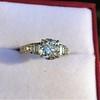 2.13ct Antique Cushion Cut Diamond Ring GIA K SI1 24