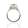 2.20ct Old European Cut Diamond Art Deco Solitaire   4