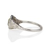 2.20ct Old European Cut Diamond Art Deco Solitaire   1