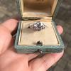 2.23ct Old European Cut Diamond Edwardian Solitaire GIA I VS1 19