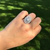 2.23ctw Old European Cut Diamond Filigree Ring 13