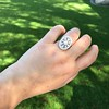 2.23ctw Old European Cut Diamond Filigree Ring 10