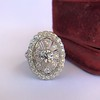 2.23ctw Old European Cut Diamond Filigree Ring 8