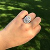 2.23ctw Old European Cut Diamond Filigree Ring 14