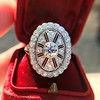 2.23ctw Old European Cut Diamond Filigree Ring 15