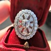 2.23ctw Old European Cut Diamond Filigree Ring 20
