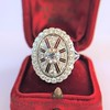 2.23ctw Old European Cut Diamond Filigree Ring 6