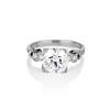 2.25ct Art Deco Transitional Cut Diamond Ring GIA J VS1 0