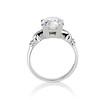 2.25ct Art Deco Transitional Cut Diamond Ring GIA J VS1 2