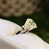 2.25ct Art Deco Transitional Cut Diamond Ring GIA J VS1 18